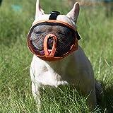 JYHY Short Snout Dog Muzzles- Adjustable Breathable Mesh Bulldog...