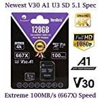 Amplim 64GB 128GB 32GB Micro SD Card Plus Adapter Pack MicroSD SDXC Class 10 U3 A1 V30 Extreme Pro Speed 100MB/s UHS-I UHS-1 TF MicroSDXC Memory Card for Cell Phone, Nintendo, Galaxy, Fire, Gopro 8 COMPATIBILE with all new 2016-2018 class10 high capacity micro SDXC or SD (Secure Digital) compatible phones such as Samsung Galaxy S9 S8 S7 Note 9 Note 8 Note 7, Sony Xperia, LG G7 V40, Nokia, Motorola Moto, USB readers, Nintendo Switch, Amazon Kindle Fire, Gopro, Microsoft Surface, PC, Mac, portable computers, drones, action cameras. COMPATIBILITY: Samsung Galaxy J8 J6 A9 A6 A6+ J7 Star Prime 2 S9 S9+ J2 Note 9 8 Tab S4 S3 J3 Book S8+ Plus S8 Active J7 V S7 Edge S7 Tab E Tab A (2018) S6; LG K30 G7 Q7 Q Stylus V40 V35 THINQ Zone 4 V30S K10 V30 V20 G6 K20 V Stylo 2 V Stylo 4 3 X Venture Charge Power G Pad F2 8.0 Pad X II; Sony Xperia XZ2 Premium Compact L2 XA2 Ultra Plus XZ1 L1 XZ; Nokia 7.1; Amazon Fire 7 Fire HD 8 Fire HD 10 and Kids edition. COMPATIBILITY Continued: Microsoft Surface 2 3 4 Pro LTE Surface Book Studio; Motorola Moto G6 G5 E5 E4 Play Plus X4 G5S Z2 Force Edition; HTC U12+ Desire 12 12+ U11 EYEs life U11+ Desire 555 One X10 Bolt; Huawei Y7 Prime Y6 Y3 Mate RS P20 10 Pro Lite MediaPad M5 M3 8 10 P Smart P9 lite MateBook Nova 2. Work with Verizon, AT&T, Sprint, T-Mobile, US Cellular, Unlocked and other carriers. Amazon Prime fast free shipping.