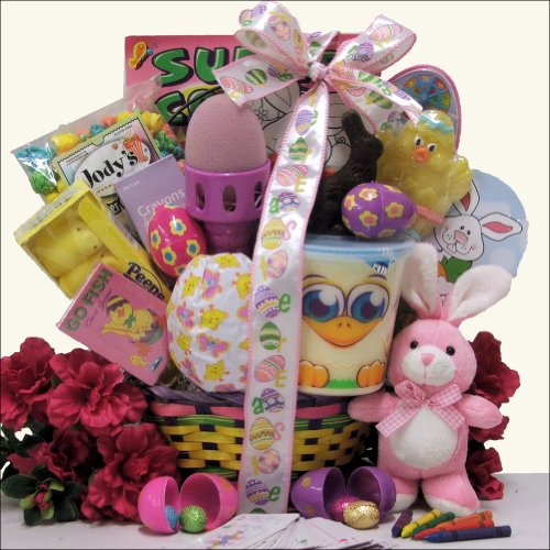Easter gift baskets for girls easter basketcheck price hoppin negle Image collections