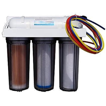 Image of Pet Supplies Abundant Flow Water ARO-Omega 4-Stage RO/DI System Reef Aquarium Water Filter, 100 GPD Reverse Osmosis