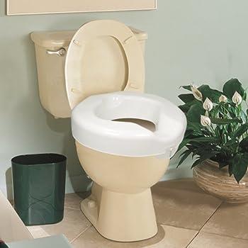Apex-Carex H/C Prod (a) Raised Toilet Seat Deluxe Carex 500 Lb. Wt. Cap.