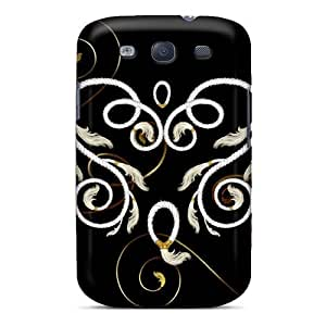 New Diy Design Roped Feather Heart For Galaxy S3 Cases Comfortable For Lovers And Friends For Christmas Gifts