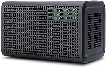 GGMM E3 Alexa Enabled Portable Bluetooth Speaker with LED Clock