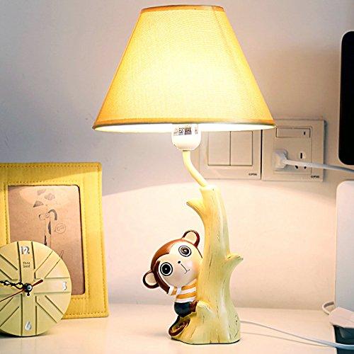 New Animal Catoon Monkey Night Light Table Desk Optical Illusion Lamps Lights LED Table Lamp Xmas Home Love Brithday Children Kids Baby Decor Toy Christmas Gift (dinosaur)