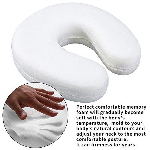 Buy travel pillow memory foam pink