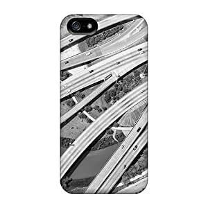 Iphone 5/5s Hard Back With Bumper Silicone Gel Tpu Case Cover Amazing Scene 7