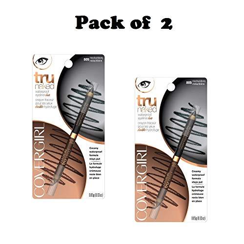 Eyeliner Case Pack - CoverGirl Tru Naked Mocha Ebony 805 Waterproof Duo Eyeliner - 2 per case.