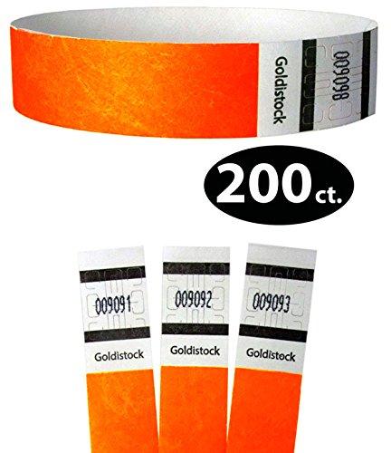 200 Tickets - Goldistock Original Series - 3/4
