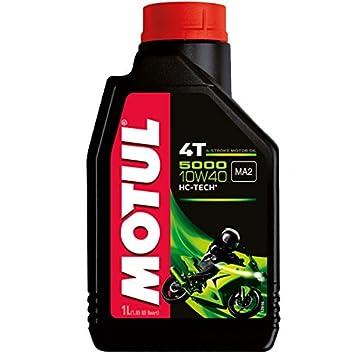 Motul Aceite para motor de moto, 5000, 4T, 10W40, mineral, 1 L: Amazon.es: Amazon.es
