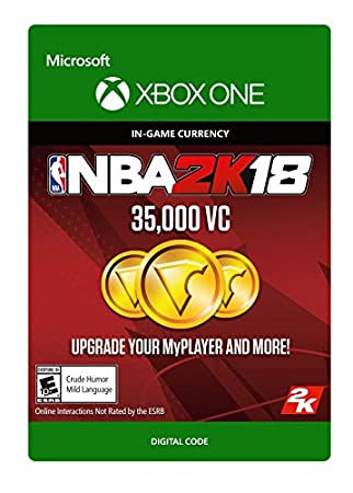 NBA 2K18: 35,000 VC - Xbox One [Digital Code]