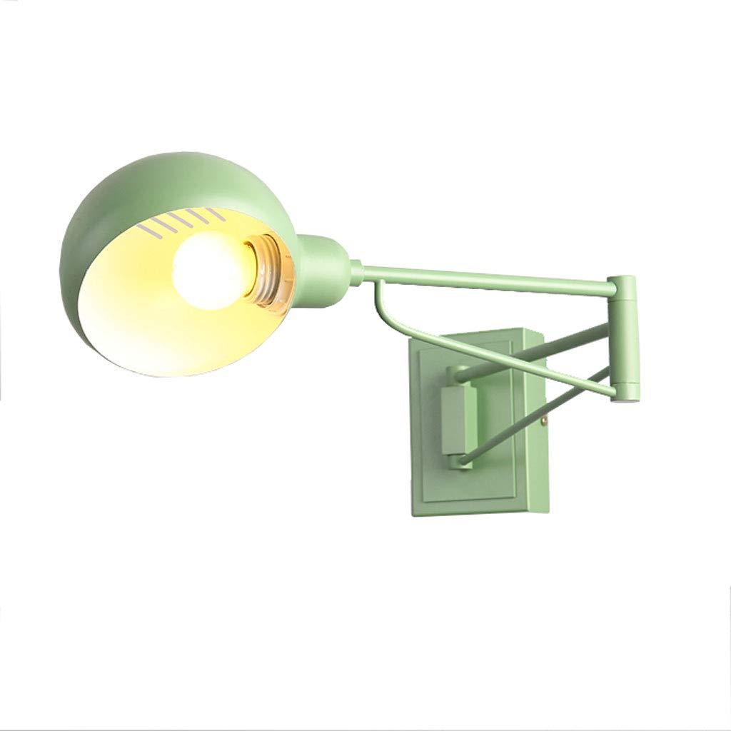 Kreative Zusammenklappbare Wandleuchte LED Langer Arm Verstellbare Wandleuchte Schlafzimmer Doppelabschnitt Teleskoplampen