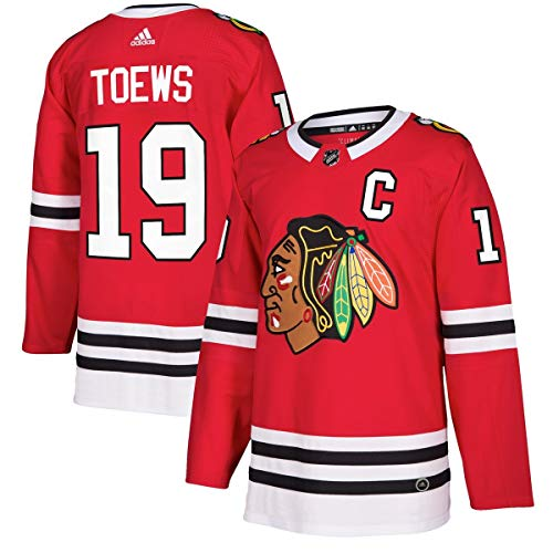 bd406daf75b adidas Jonathan Toews Chicago Blackhawks NHL Men's Authentic Red Hockey  Jersey