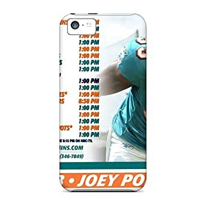 High-quality Durability Case For Iphone 5c(miami Dolphins)