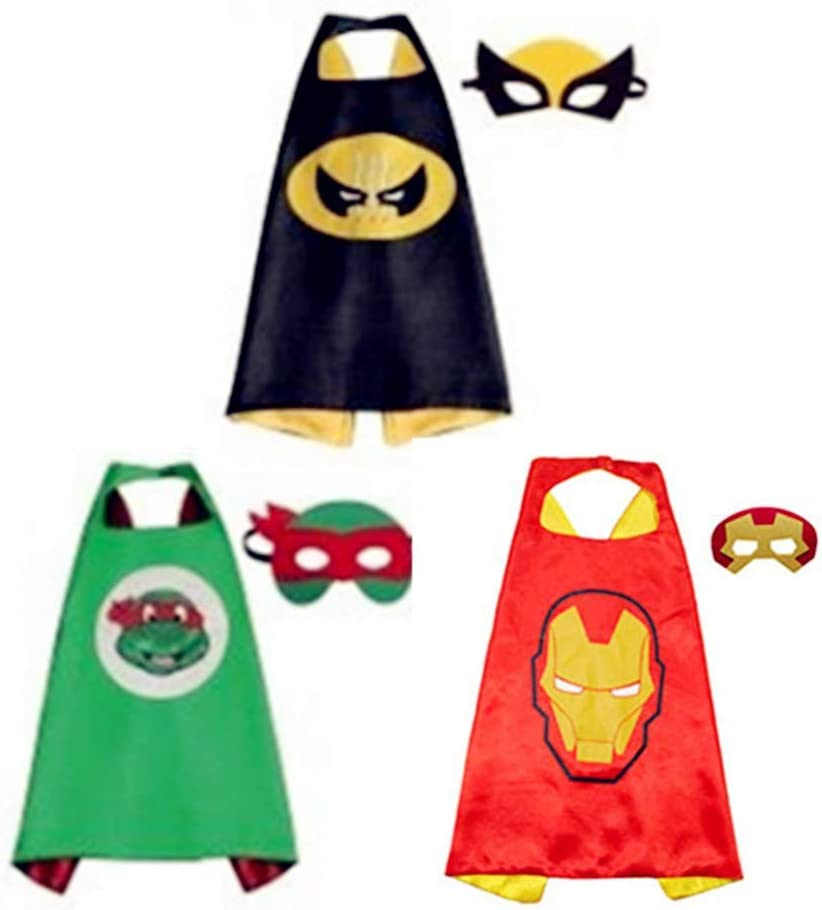 BJ-SHOP Capas de Ninos,Traje de Ninos Vestir Capas de Ninos y Ninas Juguetes para Cumpleanos y Disfraces de Ninos Fiesta