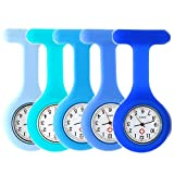 Set of 5 Nurse Watch Brooch, Silicone Review and Comparison