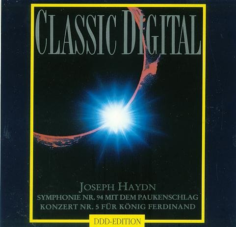 Joseph Haydn. Symphonie Nr. 94 in G Major. Concerto No.5 for King Ferdinand IV of - Outlets Naples In