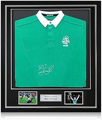 Brian ODriscoll Firmado clásico de rugby de Irlanda Camisa (en ...