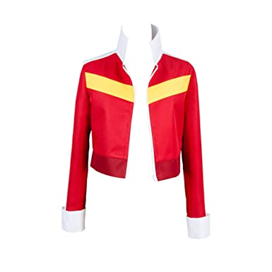 Amazon Com Noveltyboy Jacket Top Coat Adult Cosplay Costume Red