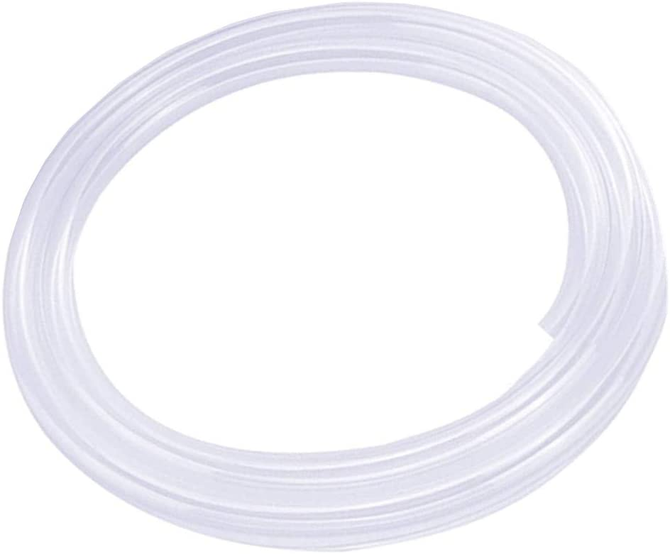 JUNZHIDA Silicone Tubing 1/4 Inch ID X 3/8 Inch OD Silicone Rubber Tube Food Grade for Pump Transfer, Homebrew Tube 10ft