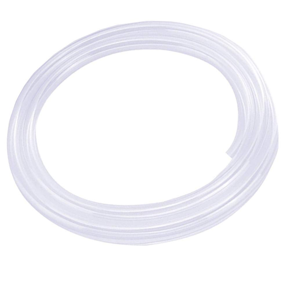 HONGLU Silicone Tubing 4mm ID X 6mm OD Silicone Rubber Tube Food Grade for Pump Transfer, Homebrew 16.4ft