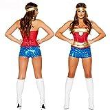 HPLY Costume Women Luxury Sexy Corset Cosplay Wonder Woman Costume
