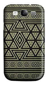 Samsung Galaxy S3 Case Cover - Geometric Pattern 3D PC Hard Back Cover for Samsung Galaxy S III / Samsung S3/ Samsung i9300