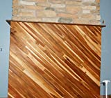tongue and groove ceiling 36 inch long TEAK WOOD Tongue & Groove- 10 square feet, real teak, nicely milled