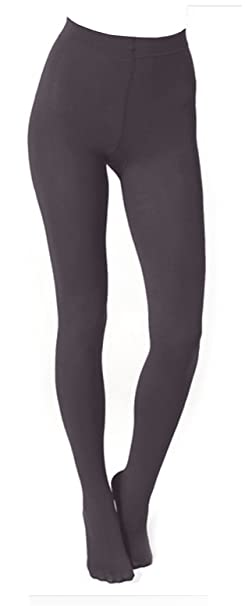 c194c75cfcd17 Plush Full Foot Fleece Lined Tights (S/M, Charcoal) at Amazon ...