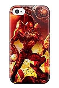 Faddish Phone Video Game Command And Conquer Case For Iphone 4/4s / Perfect Case Cover 6902137K85426804