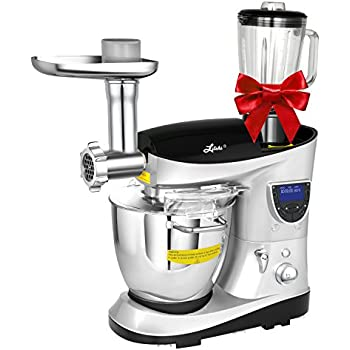 Litchi Cooking Mixing Stand Mixer 74 Quart Multifunctional Kitchen Electric With Meat Grinder
