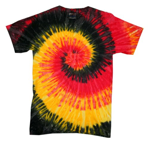 picture of Tie-Dye CD100 5.4 oz. 100% Cotton Tie-Dyed T-Shirt - Kingston - M