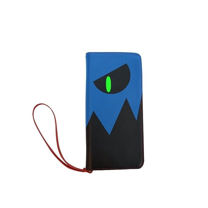 sljd personalizados de las mujeres Geometría Dash mal icono cartera larga monedero del embrague: Amazon.es: Ropa y accesorios