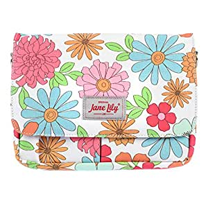 Jane Lily Small Tablet Bag, White