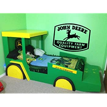 Beau John Deere Vinyl Wall Decal Sticker