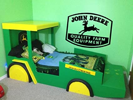 Lucky Girl Decals John Deere Vinyl Wall Decal Sticker & Amazon.com: Lucky Girl Decals John Deere Vinyl Wall Decal Sticker ...