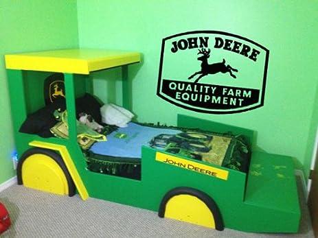 John Deere Vinyl Wall Decal Sticker