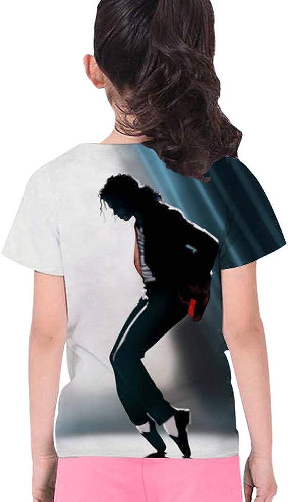 Tsyllyp Kids Boys Girls Fashion 3D T-Shirt Michael Jackson Print Tee Shirts Tops