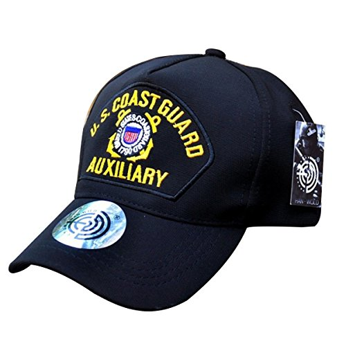 The Coast Guard Auxiliary Baseball Hat Embroidered Adjustable US Army Cap