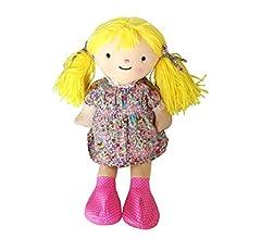 NEO+ Muñeca de Peluche con Vestido, para microondas Color castaña ...
