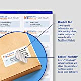 Avery Waterproof Labels with Ultrahold Permanent