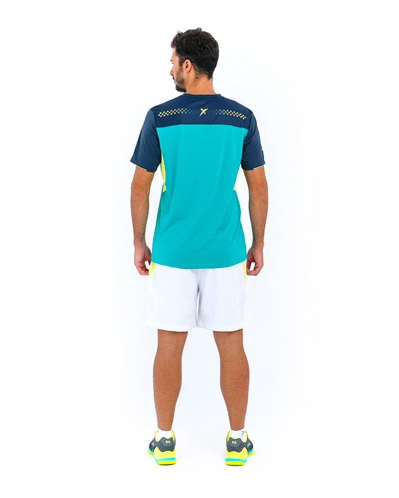 Camiseta Drop Shot Electro Verde: Amazon.es: Deportes y aire libre