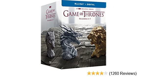 Amazon com: Game of Thrones: The Complete Seasons 1-7 (BD + Digital