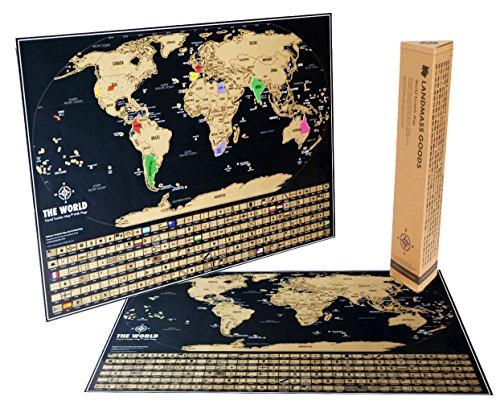 Scratch Travel Tracker travels Packaging product image