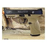 Licensed/Trademarked Smith & Wesson M&P CO2 Airsoft gun Metal slide and Magazine