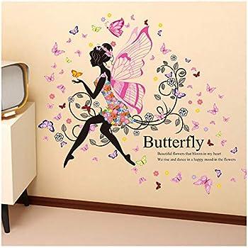 Kimanli Wall Stickers Kids Bedroom Fluorescent Glow in The Dark Stars Wall Stickers
