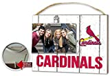 "KH Sports Fan x8"" St Louis Cardinals Clip It Weathered Logo Photo Frame, 10"" x 8"""
