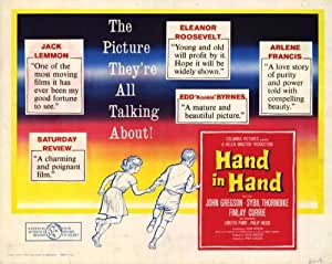Hand in Hand Movie Poster (22 x 28 Inches - 56cm x 72cm) (1960) Half Sheet Style B -(Kathleen Byron)(Finlay Currie)(Arnold Diamond)(Eric Francis)(Denis Gilmore)