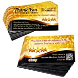gift card ebay - 200 ebay Thank You for Your Purchase Cards Stickers Alternatives Request 5-Star Positive Feedback Packaging Inserts URL & QR Code 2
