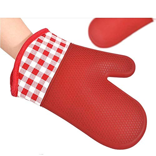 Gloves Baking Shop Special Thickening Insulation Anti-Scalding Silicone Household Oven Microwave High Temperature