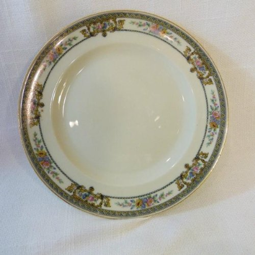 Hutschenreuther Selb Bavaria Carinthia Crown Lion Ivory Bread Plate